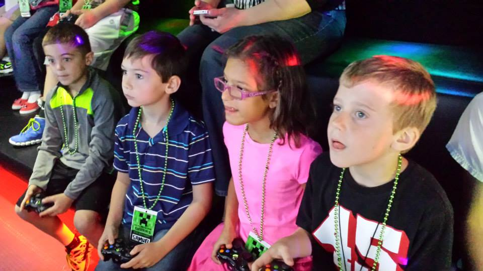 Philadelphia video game truck birthday party entertainment for Party entertainment ideas for adults